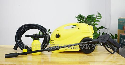 Máy rửa xe gia đình V-Jet có chất lượng tốt, được nhiều đơn vị ưu ái lựa chọn