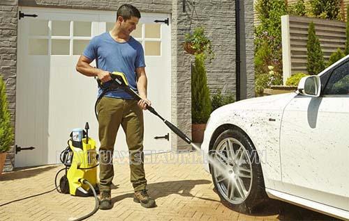 Người dùng cần vận hành thử để kiểm tra hiệu quả hoạt động máy trước khi mang thanh lý máy rửa xe gia đình