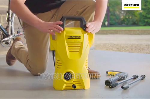Máy phun rửa áp lực cao Karcher K2 Compact