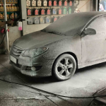 Công nghệ rửa xe không chạm