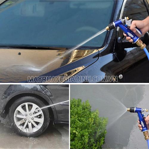 Vòi rửa xe đa năng tiện ích có nhiều chức năng đa dạng