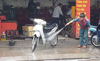 Người dùng cần chọn mặt bằng phù hợp khi mở tiệm rửa xe máy