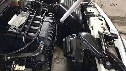 Rửa máy ô tô bằng CO2