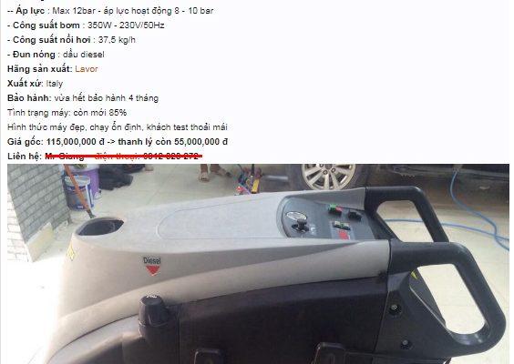 Một tin thanh lý trên diễn đàn chuyên về xe cộ