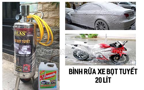 Máy nén khí cần thiết trong thiết bị rửa xe ô tô