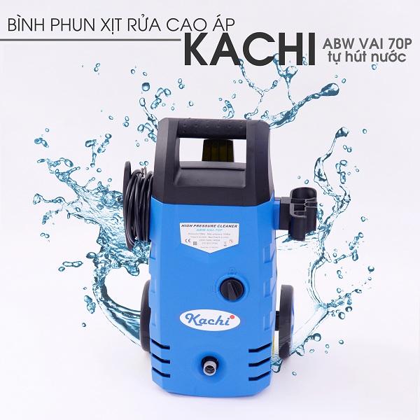 Máy phun xịt rửa cao áp Kachi VAI-70