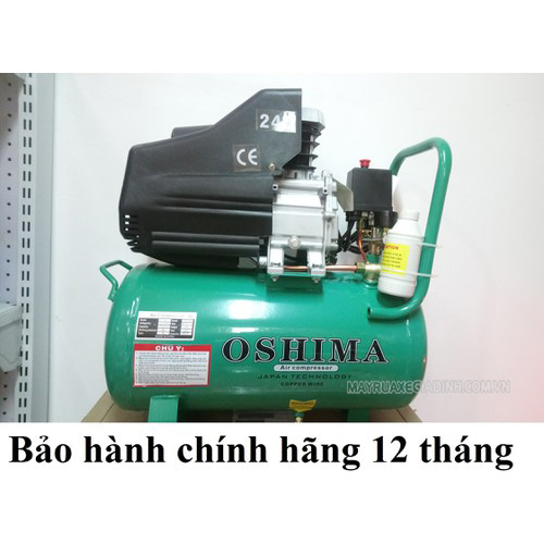Model máy nén khí Oshima 24 lít