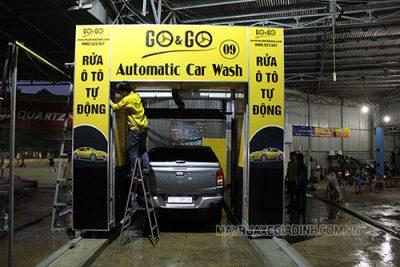 Công nghệ rửa xe ô tô mới