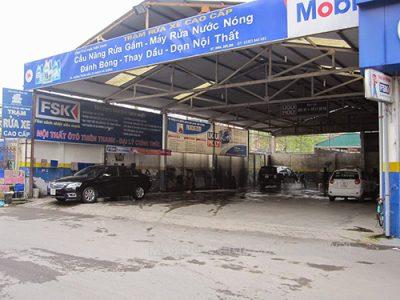 Trạm rửa xe cao cấp, chất lượng