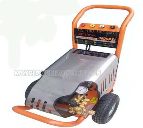 Máy rửa xe áp lực cao Jetta với khả năng xịt rửa mạnh mẽ