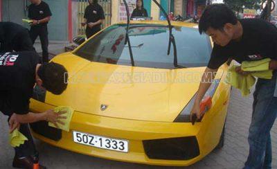 Rửa xe công nghệ mới