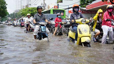 Xe máy bị ngập nước vào mùa mưa