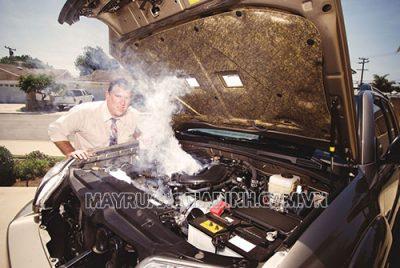 Xe ô tô bị nóng do nhiều nguyên nhân khác nhau