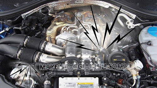 Sai thông số kĩ thuật động cơ khiến xe ô tô bị nóng