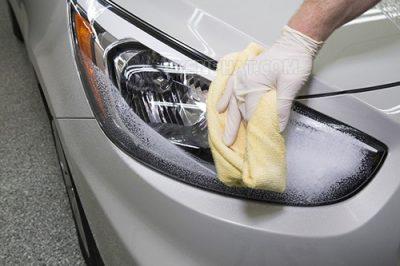 Phương pháp rửa xe không cần nước
