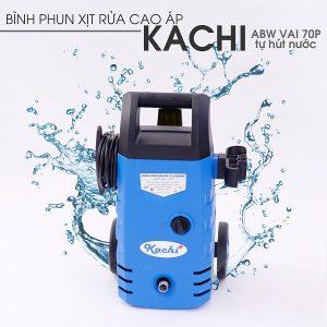 Máy phun xịt rửa cao áp Kachi VAJ-70