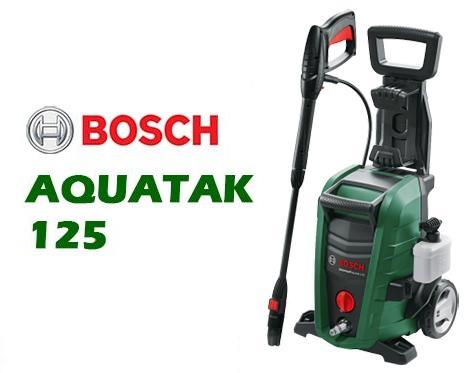 Máy xịt rửa xe Bosch AQT 125