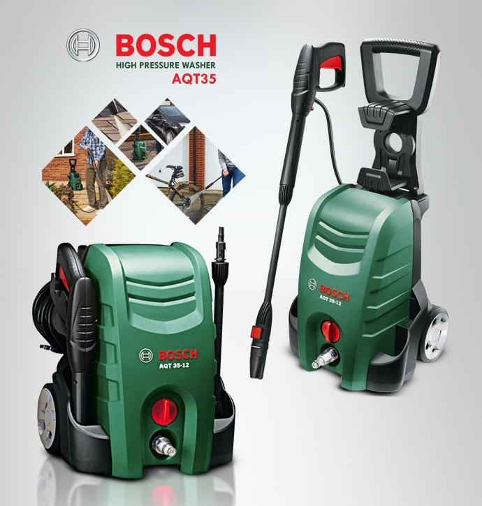 Máy phun rửa áp lực gia đình Bosch Aquatak 35-12