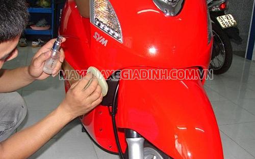 Bảo vệ hiệu quả cho lớp sơn xe máy