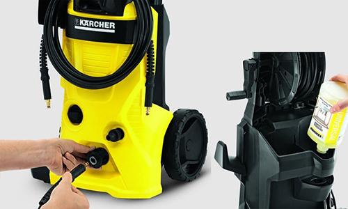 Dùng máy rửa xe Karcher hiệu quả
