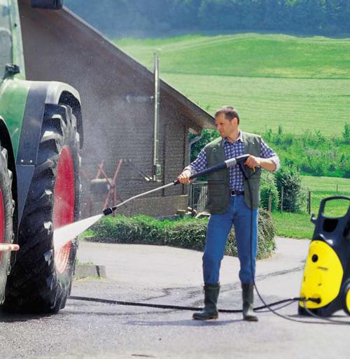 Nguyên nhân máy rửa xe không lên áp là do hỏng đầu bơm