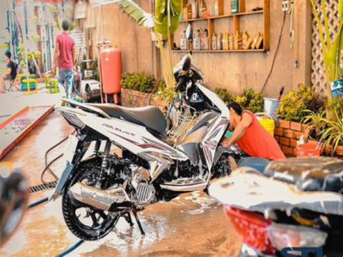 Mở tiệm rửa xe cần bao nhiêu vốn