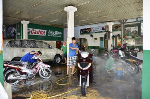Thuê mặt bằng mở tiệm rửa xe chuyên nghiệp