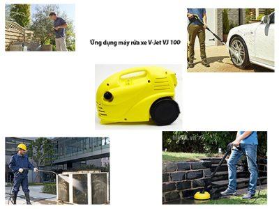 Ứng dụng của máy rửa xe gia đình VJ 100