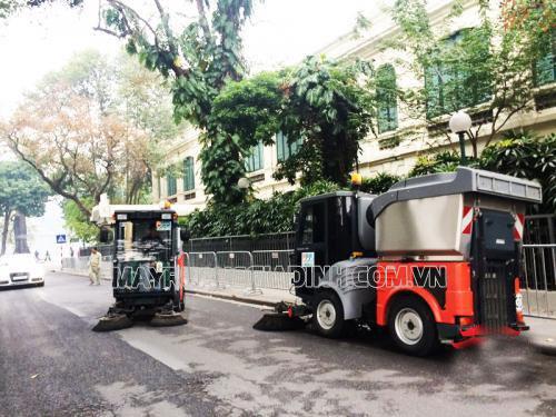 Xe quét rác Lavor mang lại hiệu quả làm việc cao