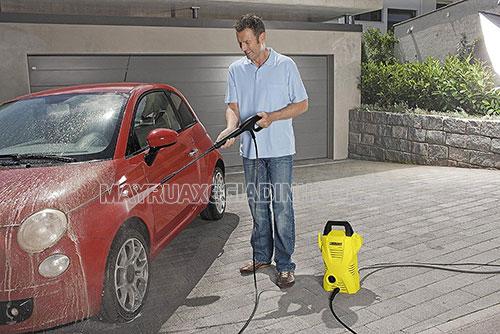 Độ bền của máy rửa xe gia đình phụ thuộc phần lớn vào cách sử dụng