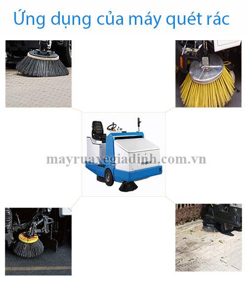 Ứng dụng của máy quét rác Fiorentini