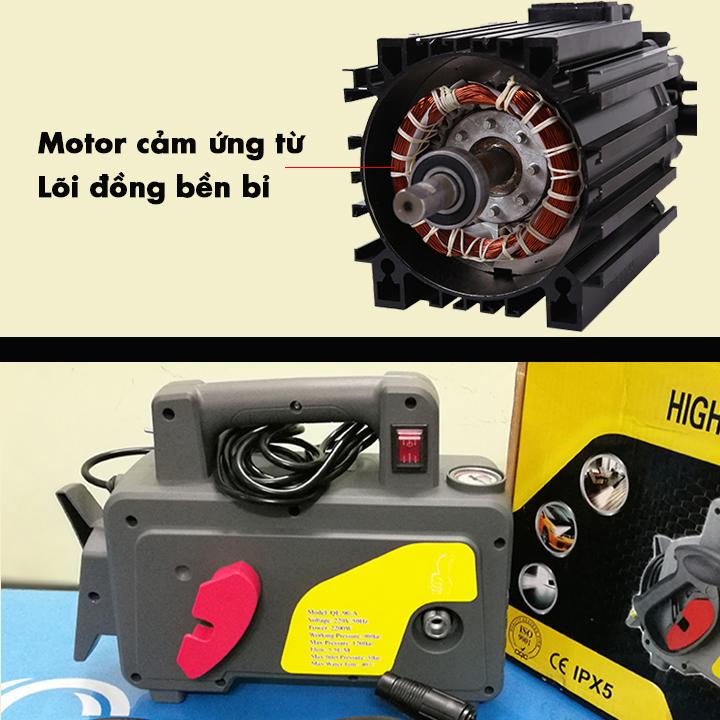 Motor cảm ứng từ máy rửa xe mini