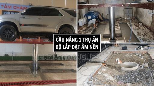 Cầu nâng rửa xe có nhiều ưu điểm nổi bật