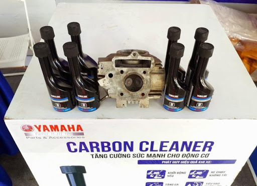Vệ sinh bằng dung dịch Cacbon Cleanner