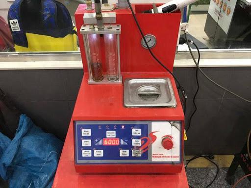 Máy rửa kim xăng bằng sóng siêu âm hiện đại