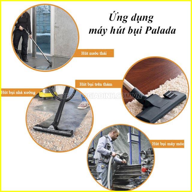 Ứng dụng của máy hút bụi Palada