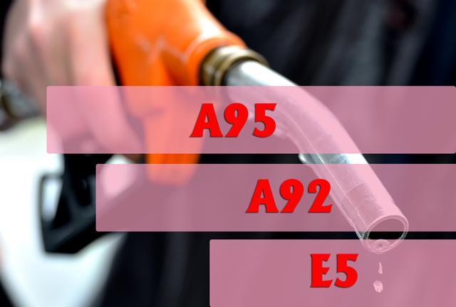 Các loại xăng được dùng phổ biến nhất