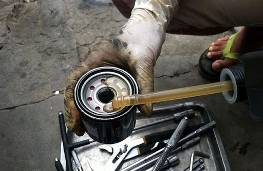 Lọc dầu động cơ