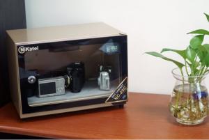 Tủ chống ẩm Nikatei NC-20C GOLD PLUS, dung tích 20 lít