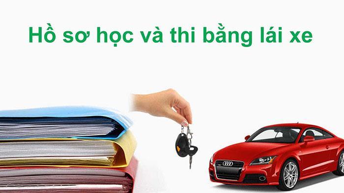 Hồ sơ thi bằng lái xe gồm nhiều giấy tờ khác nhau