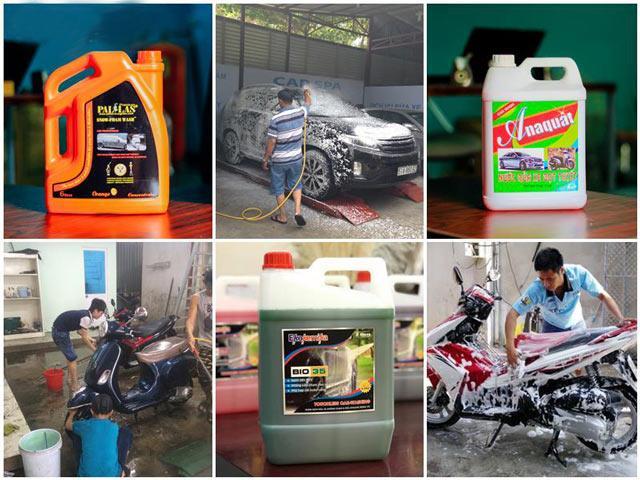 Công dụng của nước rửa xe chuyên dụng
