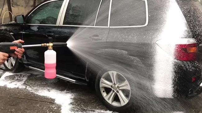 Nước rửa xe cho khả năng làm sạch cao