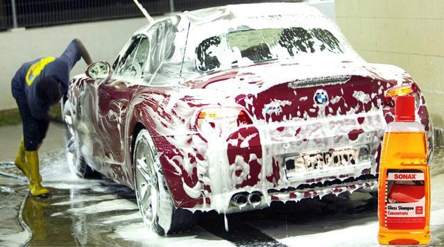 Nước rửa xe Sonax nổi tiếng