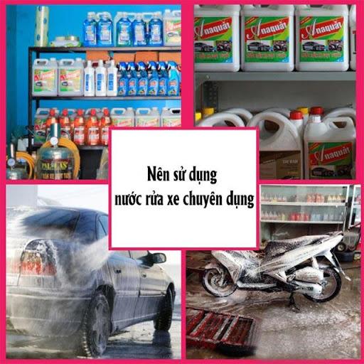 Sản phẩm thích hợp nhất cho việc rửa xe
