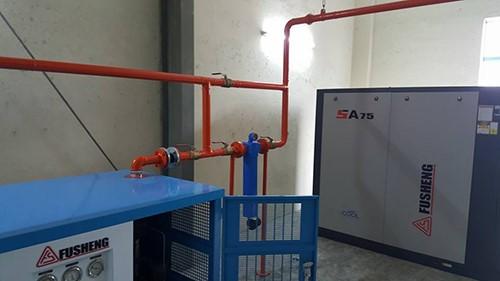 sử dụng máy sấy khí fusheng ở những xí nghiệp