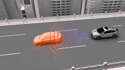 Hệ thống quét sóng radio để phát hiện chướng ngại vật