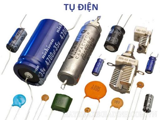 Các loại tụ điện phổ biến hiện nay