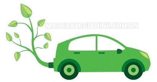 Sử dụng xe Hybrid giúp giảm lượng CO2 ra không khí