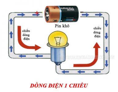 Sơ đồ dòng điện 1 chiều