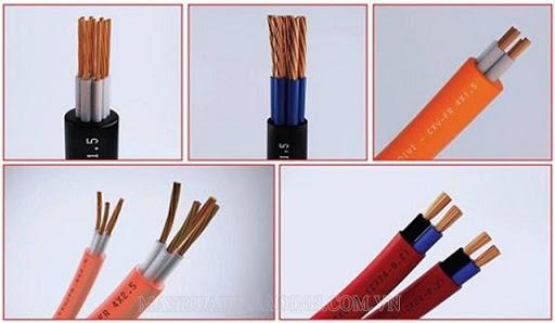 Cấu tạo của cáp dây dẫn điện